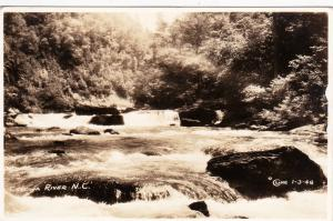 RP: Cheowa River , North Carolina, 1948