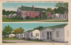 North Carolina Wilmington Hobbs Tourist Court 1949 sk5841
