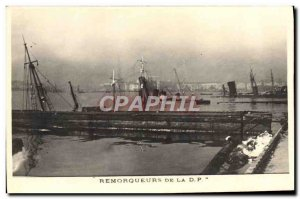 Old Postcard Boat Tug RFP
