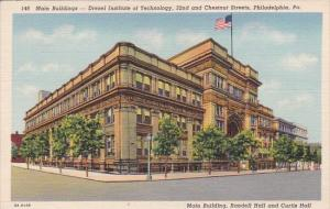 Main Building Drexel Institute Of Technology 32nd And Chestnut Street Philade...