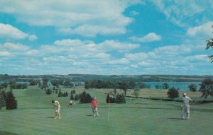 SKANEATELES, New York, 1960; Skaneateles Country Club, Overlooking Skaneatele...