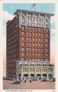 West Virginia Wheeling Hotel Windsor Curteich