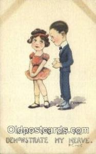 Artist Kemble, E.B. Postcard Post Card, Old Vintage Antique 19132