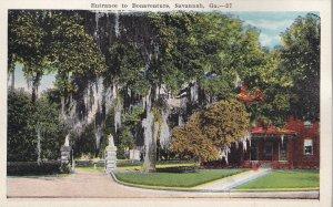 SAVANNAH, Georgia, 1900-1910's; Entrance To Bonaventure