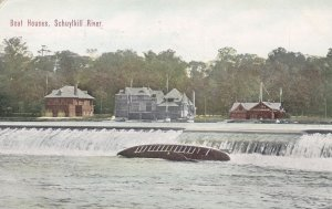 PENNSYLVANIA; Boat Houses, SCHUYLKILL RIVER, PU-1911