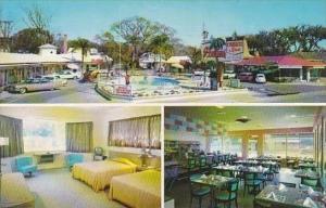 Florida St Augustine Palms Congress Inn Restaurant &amp  Swimming Pool