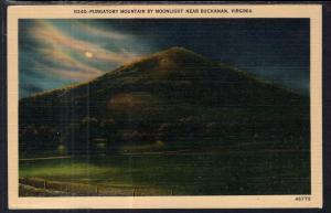 Purgatory Mountian by Moonlight Near Buchanan,VA
