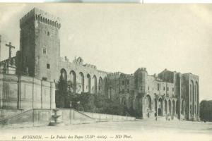 France, Avignon, Le Palais des Papes, early 1900s unused ...