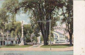 Massachusetts Springfield Court Square 1909
