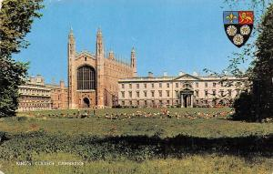England Cambridge King's College 1968