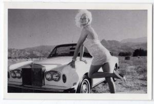 RPPC, Kitty Cole, Drag Queen, Palm Spring CA