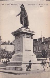 France Clermont-Ferrand Monument de la General Desaix