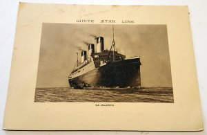 ABSTRACT OF LOG, RMS MAJESTIC, VOYAGE No. 115. VERY LOW USE.