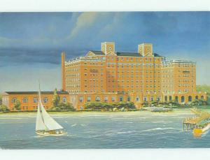 Unused Pre-1980 CHAMBERLAIN HOTEL Hampton Virginia VA hr4164@