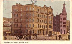 Offices of the Sydney Harbour Trust Sydney Australia 1908