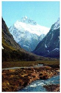 NEW ZEALAND Postcard - Mount Talbot (C13) Continental Size