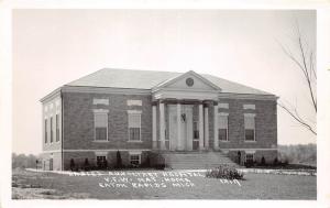 D22/ Eaton Rapids Michigan Mi Photo RPPC Postcard c30s Ladies Hospital V.F.W.