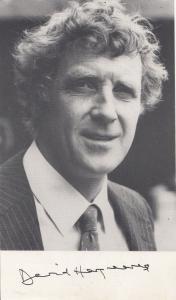 David Hargreaves Derek Owen Albion Market Vintage Printed Signed Photo Cast Card