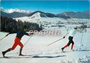 Postcard Modern Pleasures Skier Fund