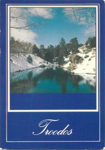Cyprus Postcard Troados mountains image (Olympus)