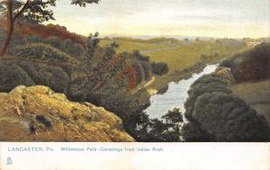 Lancaster Pennsylvania~Williamson Park~Conestoga From Indian Rock~1905 TUCK PC