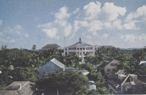 NASSAU, Bahamas, 1940-60s; Government House