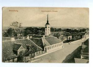 145721 Estonia ARENSBURG Kuressaare Gouvernements-Strasse OLD