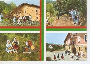 Postal 045800 : Tipico Vasco