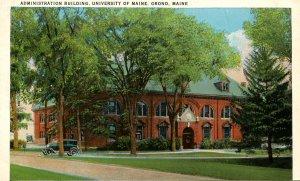 ME - Orono. University of Maine, Administration Building