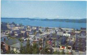 View of Prince Rupert in British Columbia, BC, Canada, Chrome