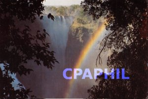 Modern Postcard Victoria Falls, Zimbabwe
