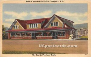 Reber's Restaurant and Bar Barryville NY Unused