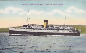 C.P.S.S. Princess Helene, St John to DIGBY , Nova Scotia , Canada , 00-10s