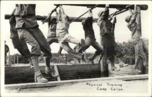 Camp Callan CA WWII Military Training - Real Photo Postcard #3