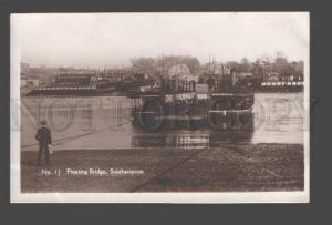 091496 UK Floating Bridge Southampton Vintage PC
