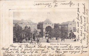 Hilsen fra Kobenhavn , Tivoli-Indgang , Denmark , PU-1905