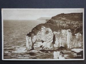 N. Ireland ANTRIM The Ladies Wishing Rock, Portrush c1932 by Valentine's 15038