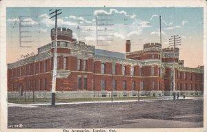 LONDON, Ontario, Canada; The Armouries, PU-1929
