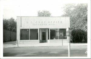 Vtg Postal RPPC 1940s Tecumseh Michigan Mi - Oficina de Correos Calle Vista Unp