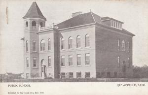 QU'APPELLE , Sask., Canada, 00-10s ; Public School