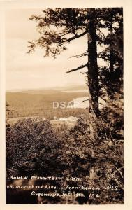 B68/ Greenville Junction Maine Me RPPC Postcard Squaw Mountain Inn Moosehead 2