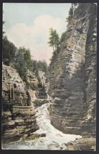 Ausable Chasm NY Jacobs Ladder The Hugh C. Leighton Co 27494