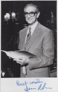 Denis Norden It'll Be Alright On The Night Hand Signed Photo