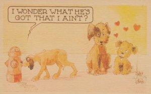 DOG ; I wonder what's he's got that I ain't , 1930-40s
