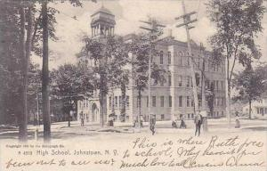 New York Johnstown High School 1907 Rotograph