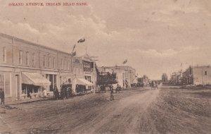 INDIAN HEAD, Saskatchewan, Canada, 1900-1910s; Grand Avenue