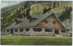 Idlewild, Ogden Canyon, Utah, UT, Divided Back