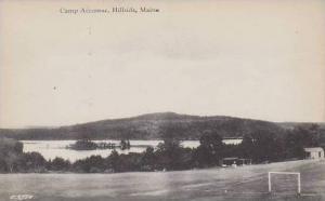 Maine Hillside Camp Accomac Artvue