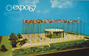 Canada Montreal Expo 67 United Nations Pavilion