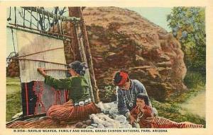 AZ, Grand Canyon National Park, Navajo Weaver, Fred Harvey